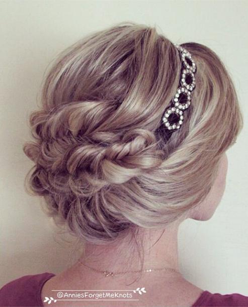 Wedding Hairstyle Tutorials: Mane Interest: Wedding Hairstyle Idea