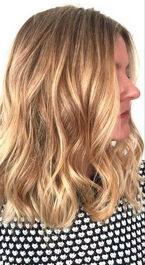 Mane Interest Shimmering Honey Blonde Highlights