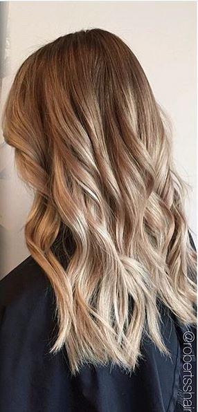 Mane Interest: hair color idea – darker blonde with highlights