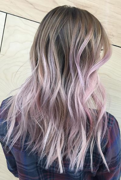Mane Interest Lilac Ombre