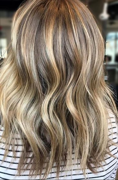 Mane Interest Beige And Blonde Highlights And Lowlights