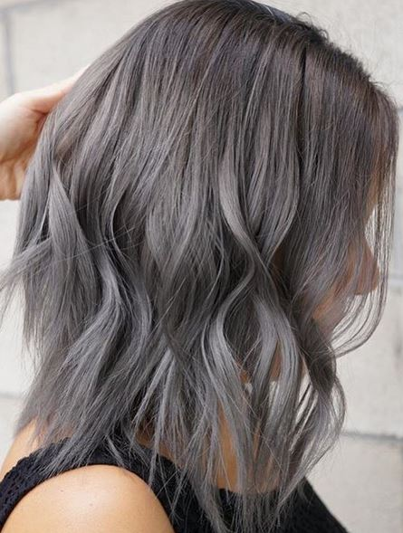 Mane Interest Gunmetal Gray